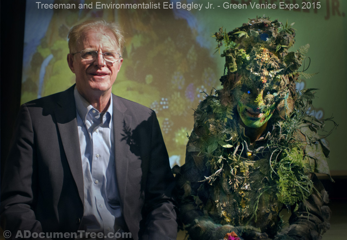 Ed Begley Jr. at Green Venice Expo